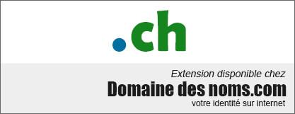 image logo nom de domaine extension .ch