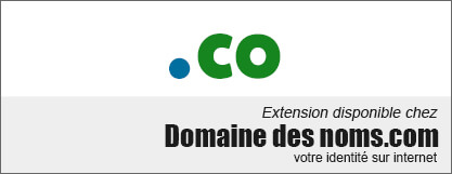 image logo nom de domaine extension .co