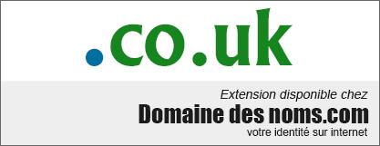 image logo nom de domaine extension .co.uk