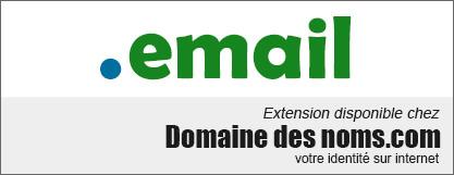 image logo nom de domaine extension .email