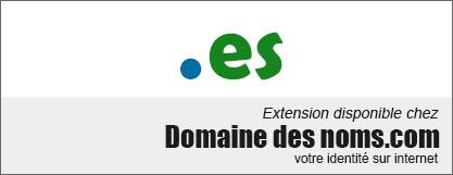 image logo nom de domaine extension .es