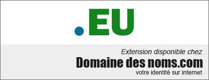 image logo nom de domaine extension .eu