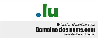 image logo nom de domaine extension .lu