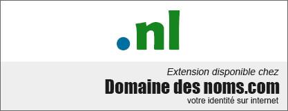 image logo nom de domaine extension .nl