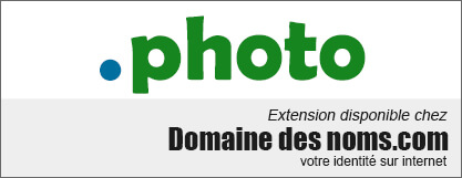 image logo nom de domaine extension .photo