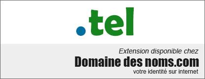 image logo nom de domaine extension .tel