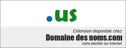 image logo nom de domaine extension .us