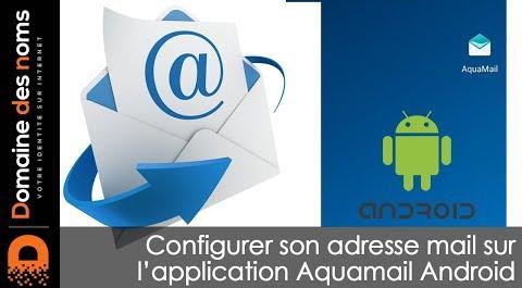 Embedded thumbnail for Application Aquamail pour la réception et l'envoi de vos émails
